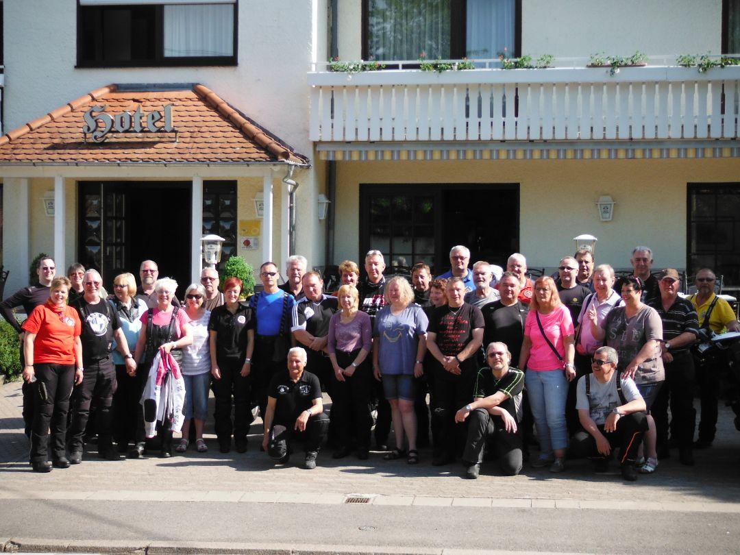 Wochenendtour nach Gersheim im Saarland, Hotel Bliesbrück